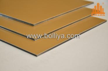 BOLLIYA high gloss glossy aluminum composite panel material for signboard